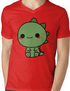 Cute dino Mens V-Neck T-Shirt