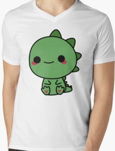 Cute dino Mens V-Neck T-Shirt