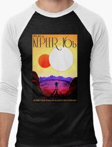 Visions of the future- Kepler-16b Men's Baseball ¾ T-Shirt