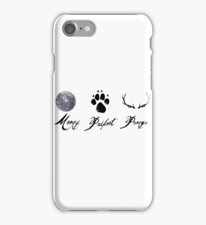 Moony, Padfoot and Prongs iPhone Case/Skin