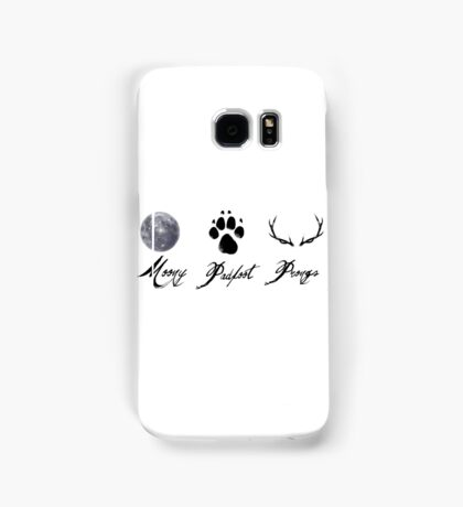 Moony, Padfoot and Prongs Samsung Galaxy Case/Skin