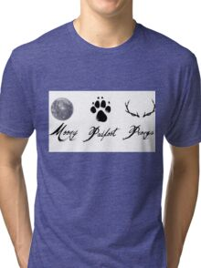 Moony, Padfoot and Prongs Tri-blend T-Shirt
