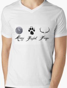 Moony, Padfoot and Prongs Mens V-Neck T-Shirt