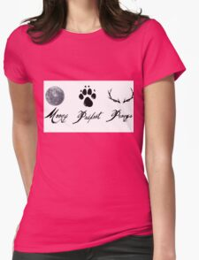 Moony, Padfoot and Prongs Womens Fitted T-Shirt