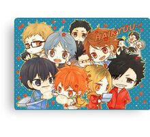 Chibi 7 Haikyuu!! Anime Canvas Print