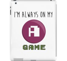 A GAME iPad Case/Skin