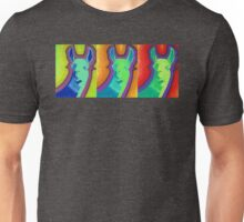 Tres Llamas Unisex T-Shirt