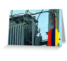 Pylon Greeting Card
