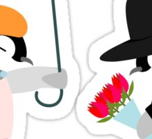 Propose Penguin Sticker