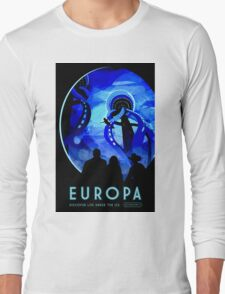 Visions of the future- Europa Long Sleeve T-Shirt