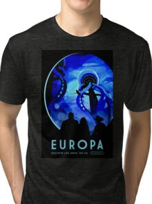 Visions of the future- Europa Tri-blend T-Shirt