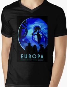 Visions of the future- Europa Mens V-Neck T-Shirt