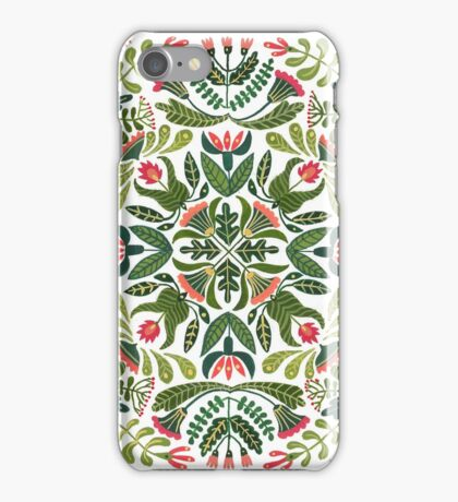 Little red riding hood - mandala pattern iPhone Case/Skin