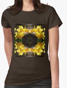 Daffodillys - In the Mirror Womens Fitted T-Shirt