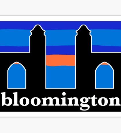 Indiana - Bloomington - Sample Gates Sticker