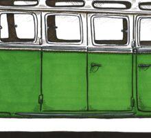Future Bus - green Sticker
