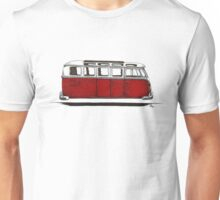 Future bus- red Unisex T-Shirt
