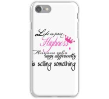 Life is Pain iPhone Case/Skin