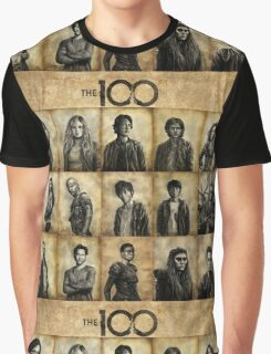 The 100 poster 2 Graphic T-Shirt