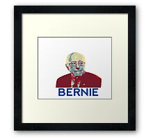 Bernie Sanders Obama Hope Poster Framed Print
