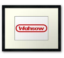 Wahsow -- Nintendo Framed Print