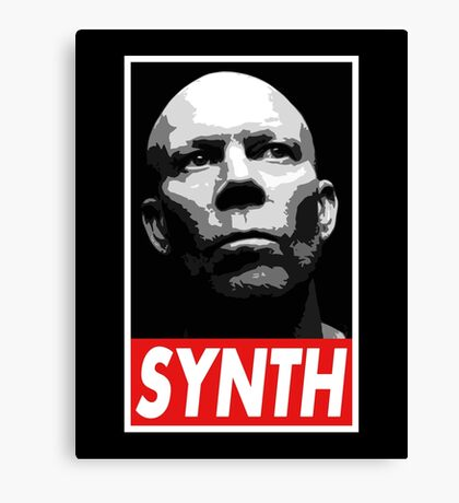 VINCE CLARKE, SYNTH - OBEY Inspired Design Canvas Print