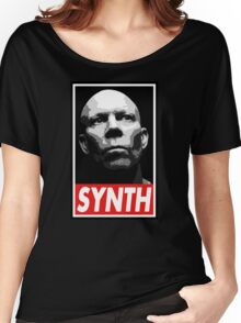 VINCE CLARKE, SYNTH - OBEY Inspired Design Women's Relaxed Fit T-Shirt