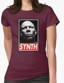 VINCE CLARKE, SYNTH - OBEY Inspired Design Womens Fitted T-Shirt
