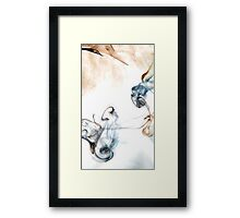 Where there is smoke there is fire Framed Print