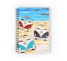VW Kombi Van Summerluvn Friends Spiral Notebook
