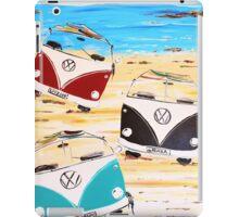 VW Kombi Van Summerluvn Friends iPad Case/Skin