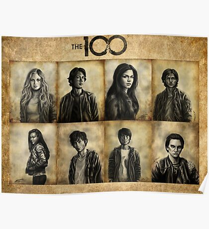 The 100 kids Poster