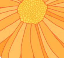 Chill Out - Orange Marigold Sticker