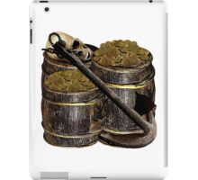 Barrels Of Gold Dubloons iPad Case/Skin