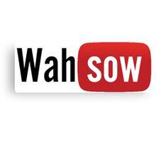 Wahsow - Youtube Canvas Print