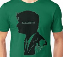 10 Th Doctor-Quotes Silhouette Unisex T-Shirt