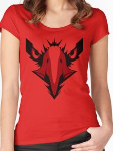 Zyuoh Eagle (Red Ranger) Women's Fitted Scoop T-Shirt