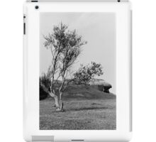 Normandy Landscape Black and White  iPad Case/Skin