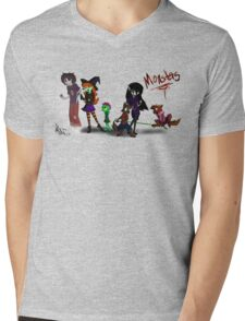 Monsters---Original Characters Mens V-Neck T-Shirt