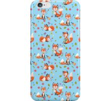 Funny Foxes iPhone Case/Skin