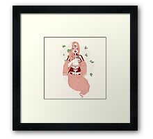 Dead Girl Framed Print