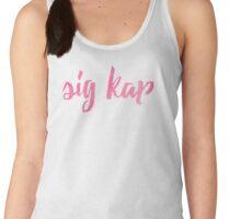 sig kap nice Women's Tank Top