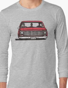 MMM DROP in red Long Sleeve T-Shirt
