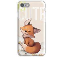 Too Cute iPhone Case/Skin