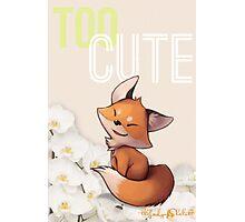 Too Cute Photographic Print
