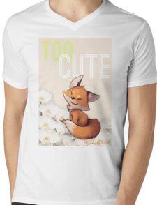 Too Cute Mens V-Neck T-Shirt
