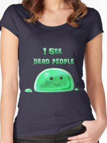 Squishy but deadly Women's Fitted Scoop T-Shirt