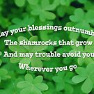 Irish Blessing by Susan S. Kline
