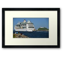 RADIANCE OF THE SEAS Framed Print