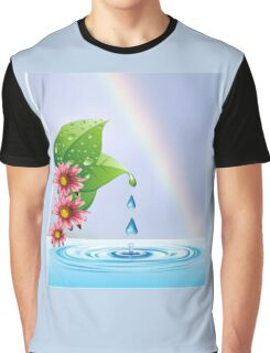 Water droplets (6432  Views) Graphic T-Shirt